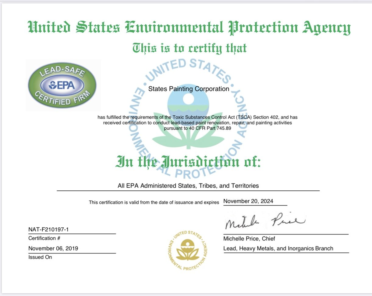 Lead Abatement Certification